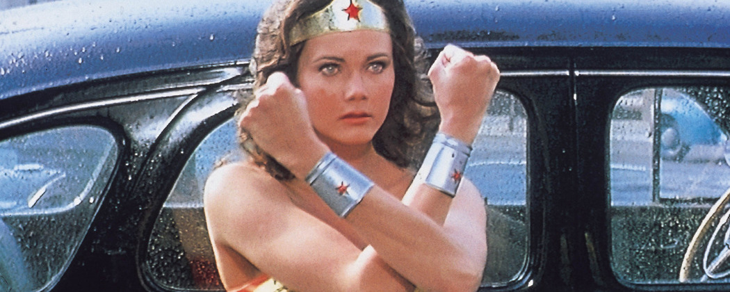 Lynda Carter as Wonder Woman, TV's super heroine. Possesing magical powers, she champions good, fighting for truth and justice, and protects the world from harm. (Retrogasm/Flickr)