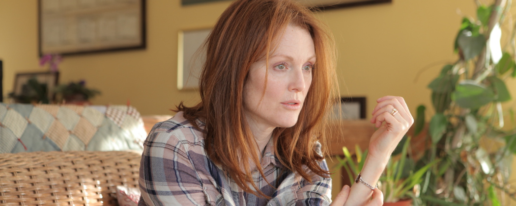 "Julianne Moore as Alice in ""Still Alice."" (Linda Kallerus/Sony Pictures Classics)"