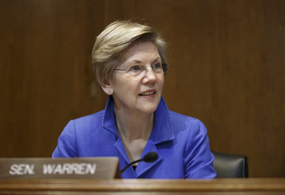 Sen. Elizabeth Warren on Jan. 8 on Capitol Hill. (J. Scott Applewhite/AP)