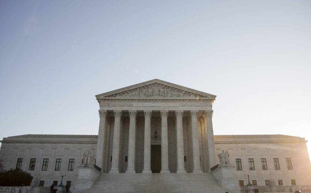 A view of the Supreme Court, January 16, 2015 in Washington, D.C. (Drew Angerer/Getty Images)