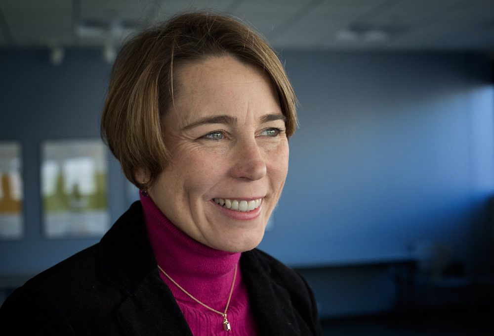 Attorney General Maura Healey (Robin Lubbock/WBUR)