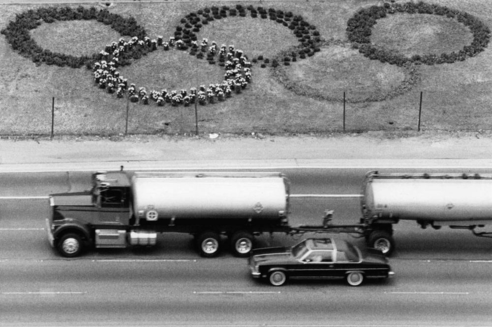 Fears of traffic congestion paralyzing the 1984 Summer Olympic Games in Los Angeles went unrealized. (Craig Mathew/AP)
