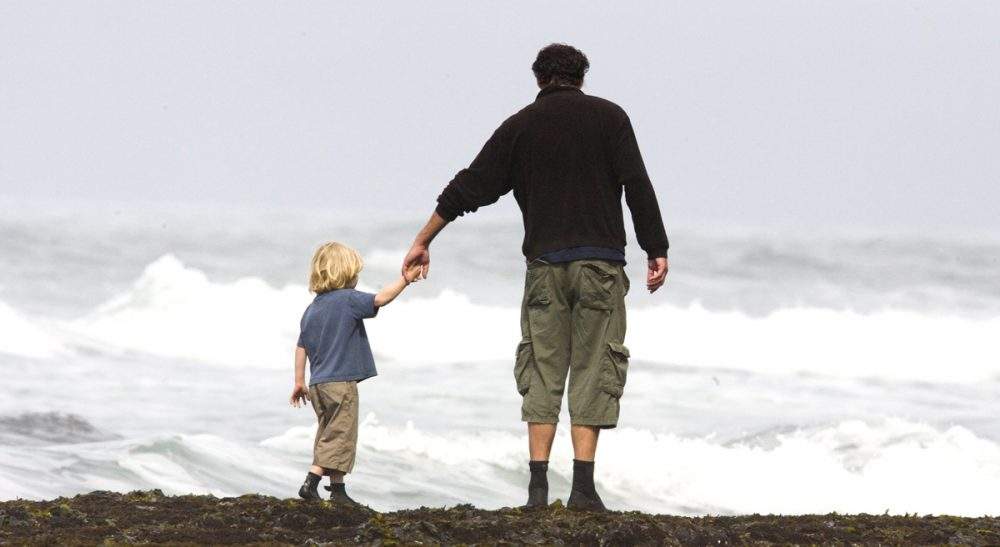 "Navigating the distinction between ""father"" and ""stepfather."" (thomashawk/flickr)"