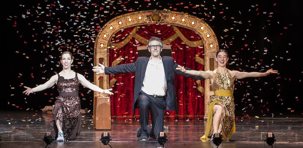 """""""1 Radio Host, 2 Dancers"""" at the Granad Theatre"""