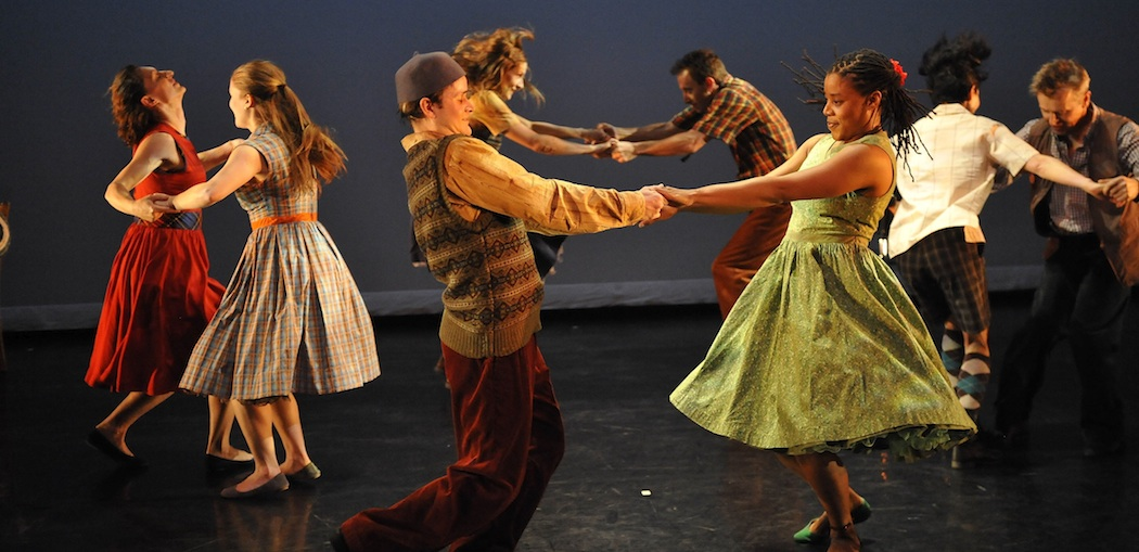 "The Mark Morris Dance Group performs ""A Wooden Tree."" (Stephanie Berger)"