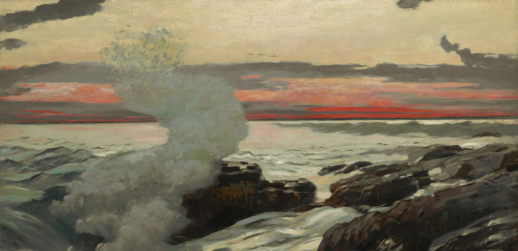 """West Point, Prout's Neck"" (1900) by Winslow Homer at Clark Art Institute."