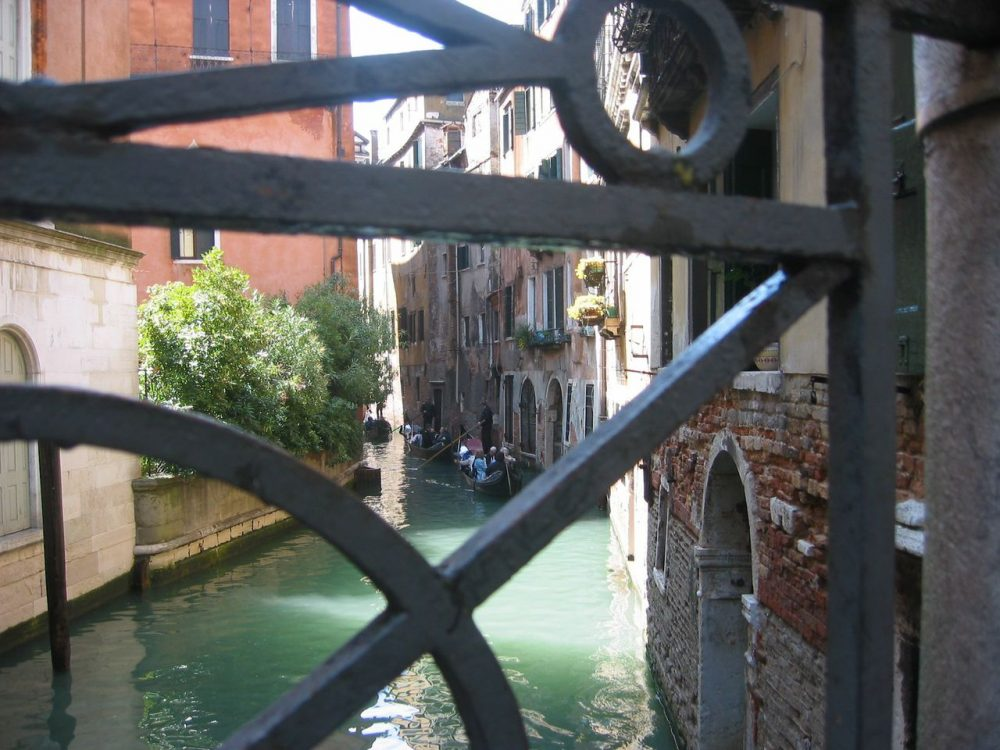 View from a Venice footbridge. (Courtesy Sonia Michaels)