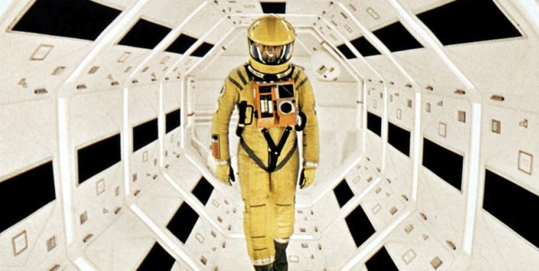 """Keir Dullea in Stanley Kubrick's """"2001: A Space Odyssey."""" (Courtesy)"""