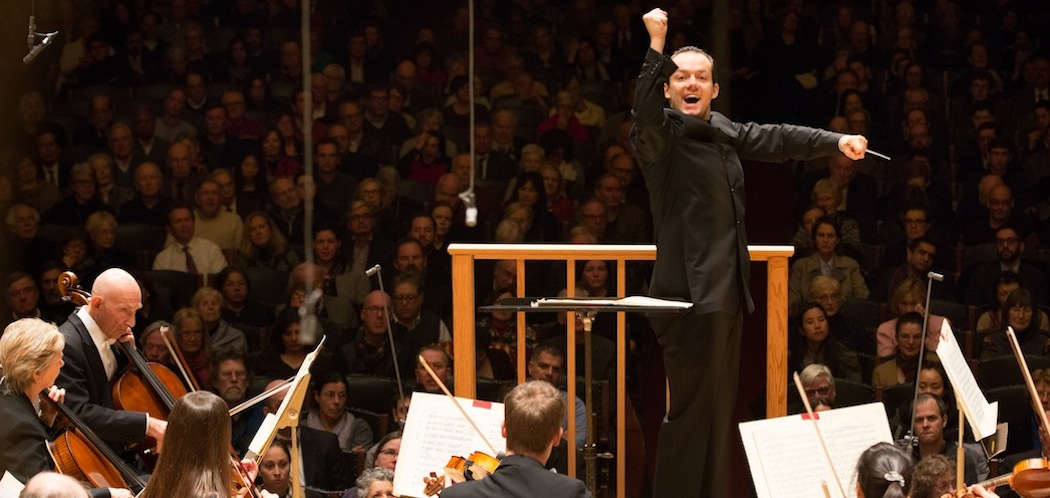 Andris Nelsons leads the Boston Symphony Orchestra in his first of two January concerts. (Michael Blanchard)