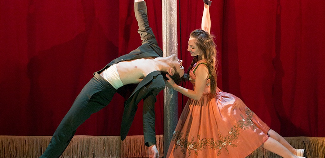 "Kneehigh's ""Tristan & Yseult."" (Richard Termine)"