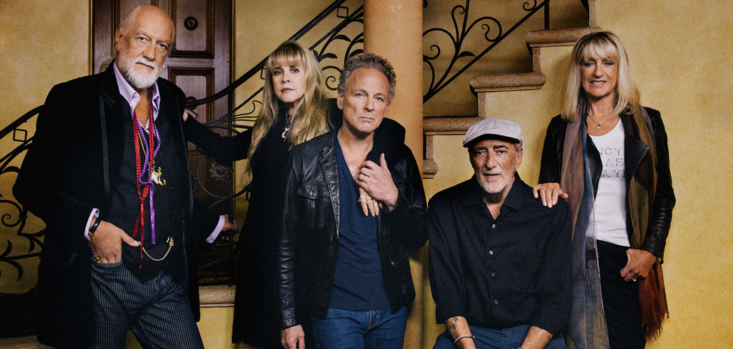 Fleetwood Mac is (left to right) Mick Fleetwood, Christine McVie, Stevie Nicks, John McVie and Lindsey Buckingham. (Danny Clinch)