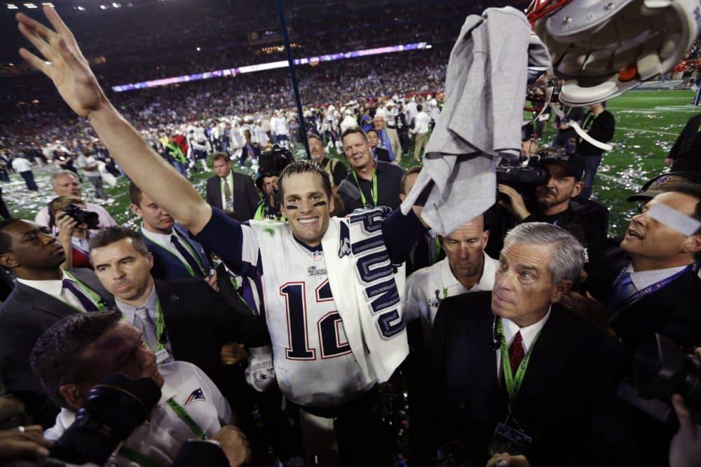 Quarterback Tom Brady has now led the Patriots to four Super Bowl victories. (David J. Phillip/AP)
