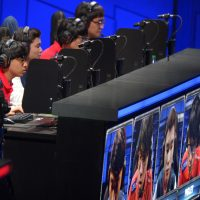 Ethan Gilsdorf: Tastes change. These days, lots of people play video games. Certainly they outnumber those who practice rhythmic gymnastics. In this photo, the team of SK Telecom T1 competes in the second round at the League of Legends Season 3 World Championship Final, Friday, Oct. 4, 2013, in Los Angeles. (Mark J. Terrill/AP)