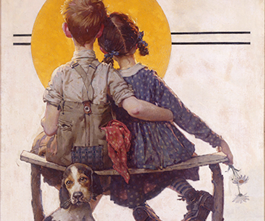 Iconic Norman Rockwell Painting Donated To Museum The Artery