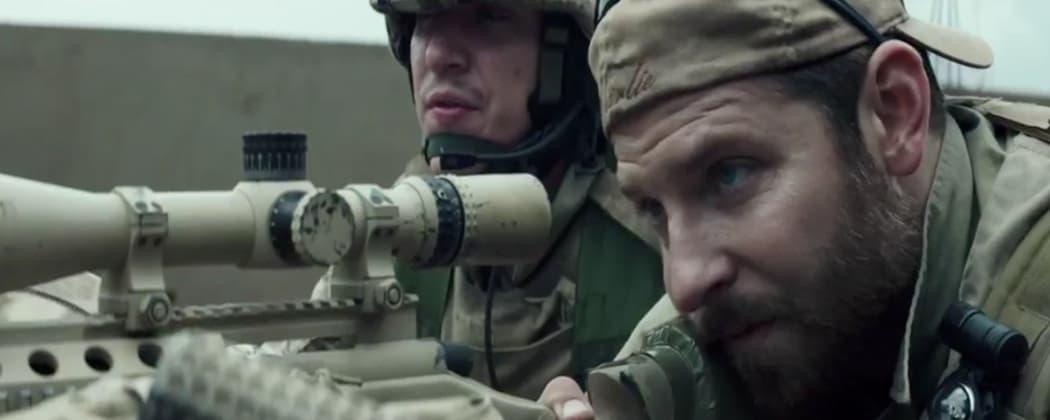 """Bradley Cooper as Chris Kyle in """"American Sniper."""" (Warner Bros.)"""