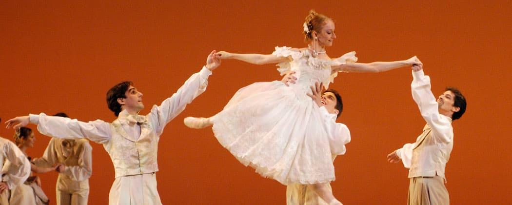 "Boston Ballet in Val Caniparoli's ""Lady of the Camellias."" (Eric Antoniou)"