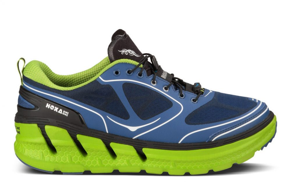Maximalist shoes, like these from Hoka One One, are gaining popularity among runners who hope their extra cushioning will reduce injury. (Hoka One One)