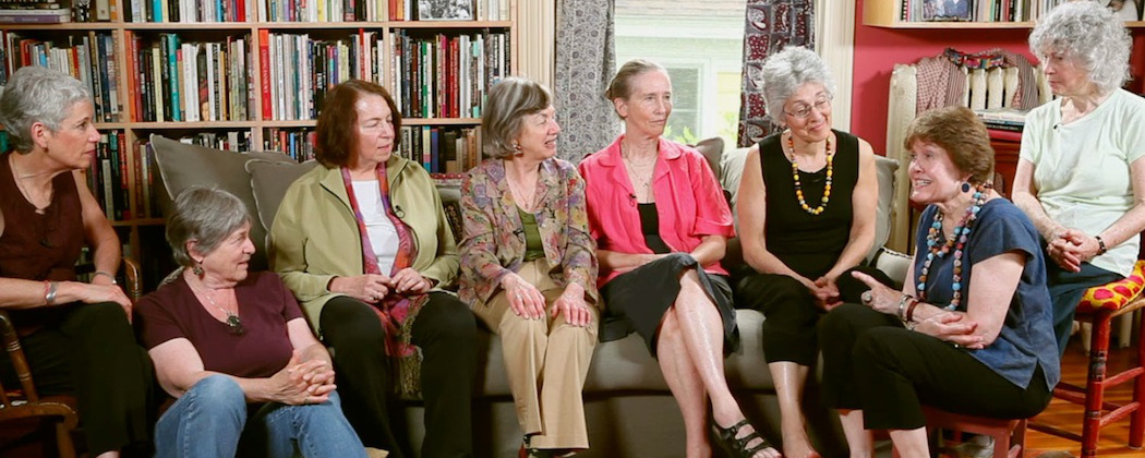 "The founding members of Our Bodies Ourselves as seen in ""She's Beautiful When She's Angry."" (Courtesy Mary Dore)"