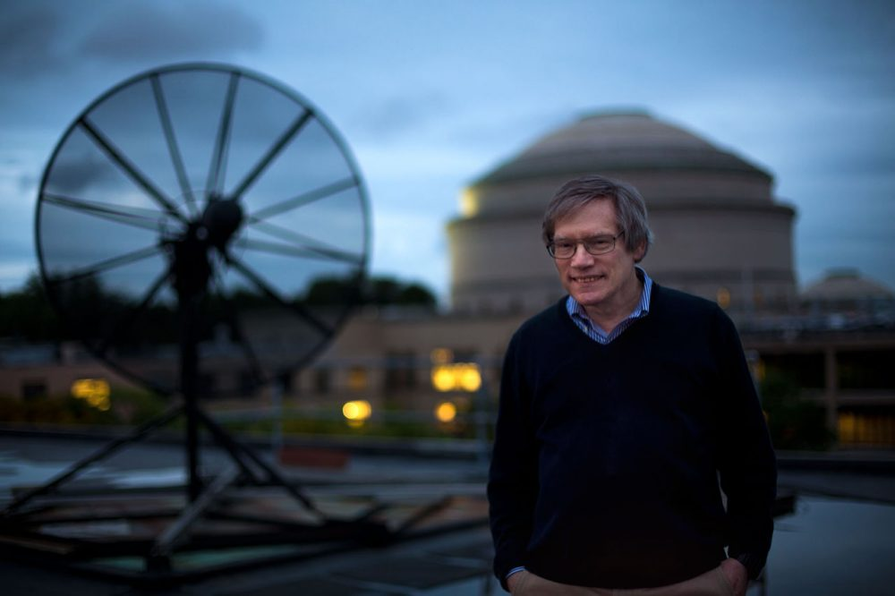 "MIT physicist Alan Guth's ""inflation"" is accepted as the most plausible explanation for the evolution of the universe. (Jesse Costa/WBUR)"