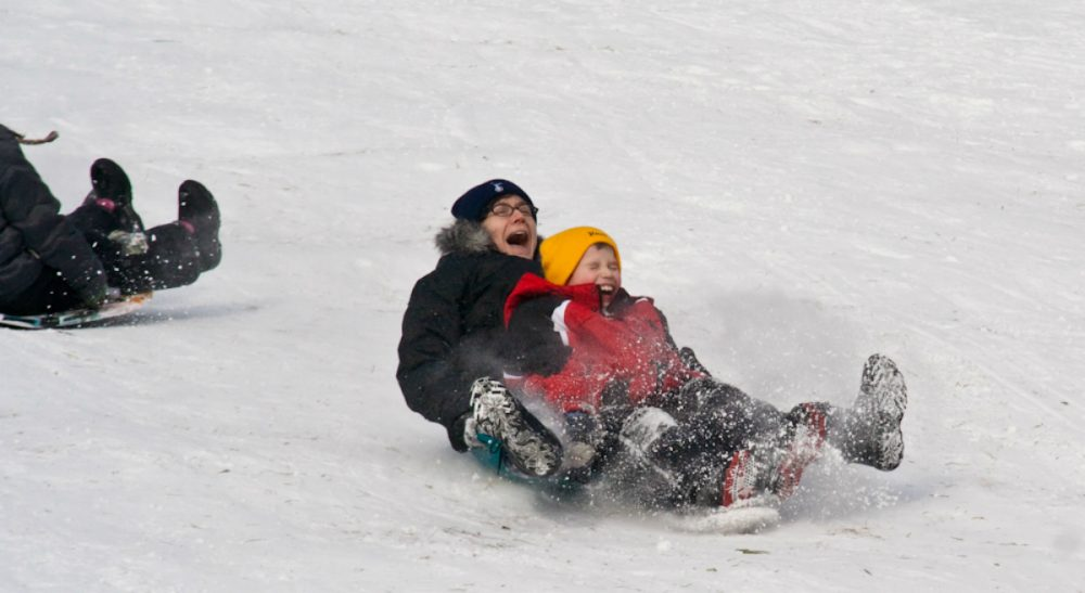 A mom realizes that the glory of a snow day belongs to a much younger generation. (stevendepolo/flickr)