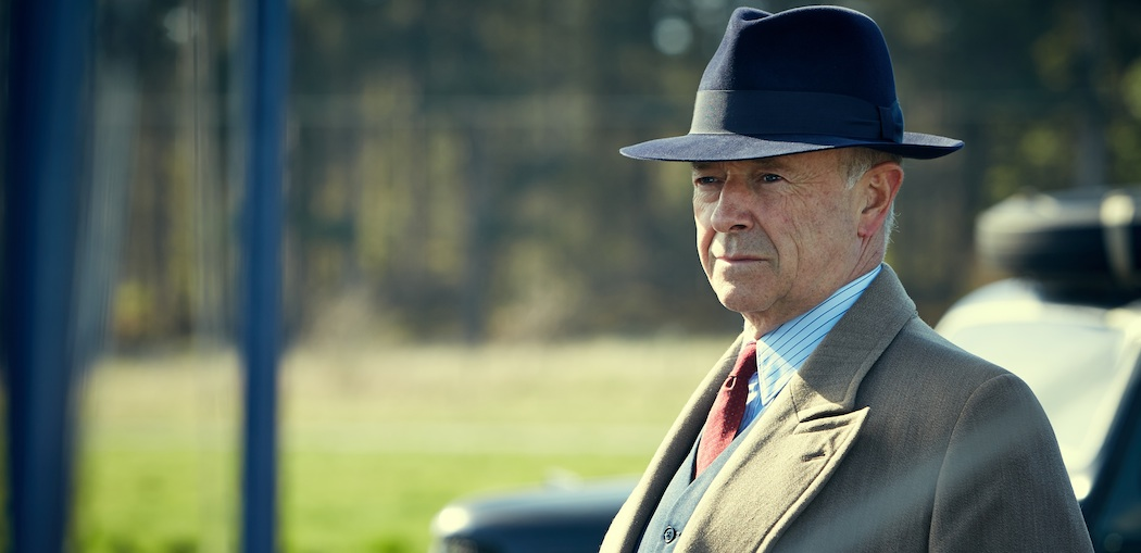 "Michael Kitchen in ""Foyle's War."" (Courtesy, Acorn TV)"