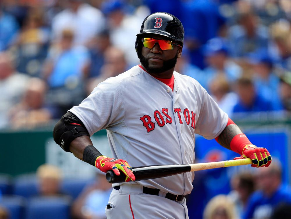 Red Sox slugger David Ortiz has been used almost exclusively as a DH since he came to Boston in 2003. (Jamie Squire/Getty Images)