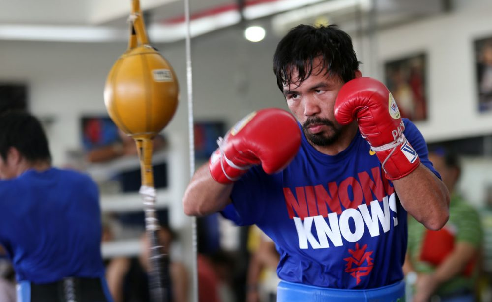 """Manny has sort of, almost single-handily, elevated the profile of the Philippines on an international stage,"" says Grantland's Rafe Bartholomew. (Jeoffrey Maitem/Getty Images)"
