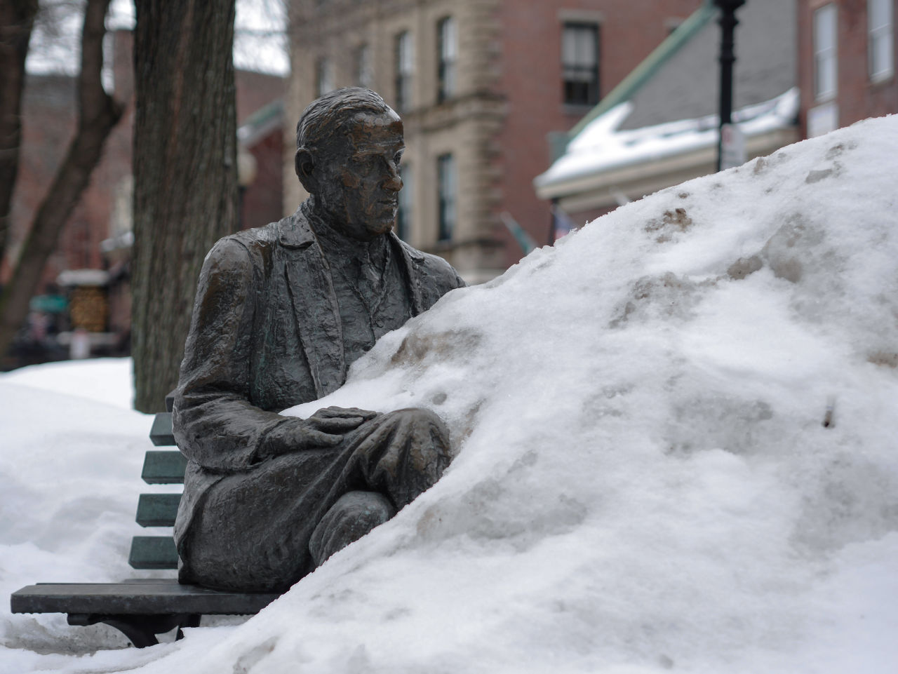 Despite record February snowfall in and around Boston, hoteliers emerged largely unscathed. (KAdam/Flickr)