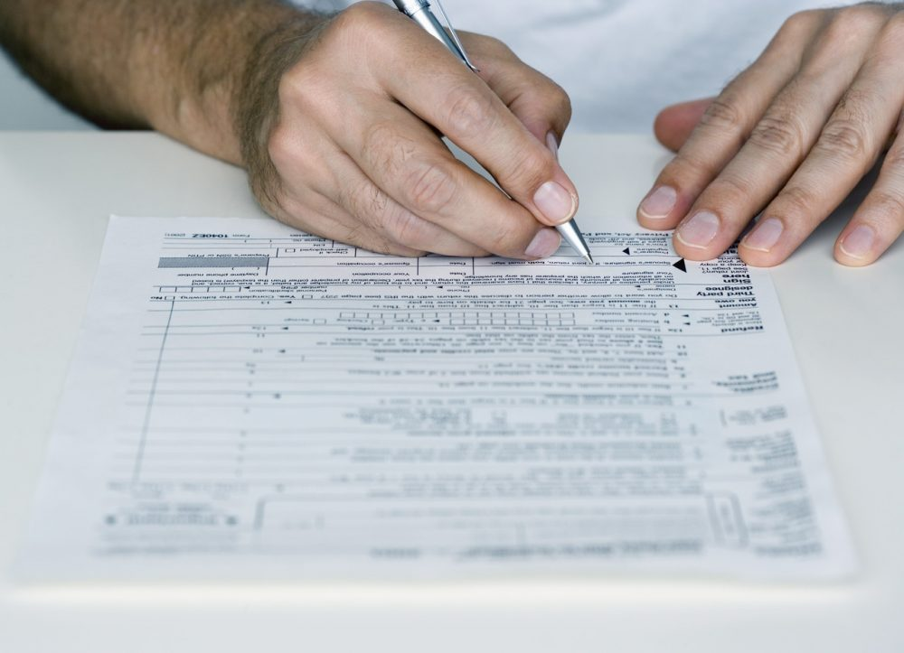 Could there be a simpler, faster way to file taxes? The Atlantic's Derek Thompson explains.(AgriLife Today/Flickr Creative Commons)