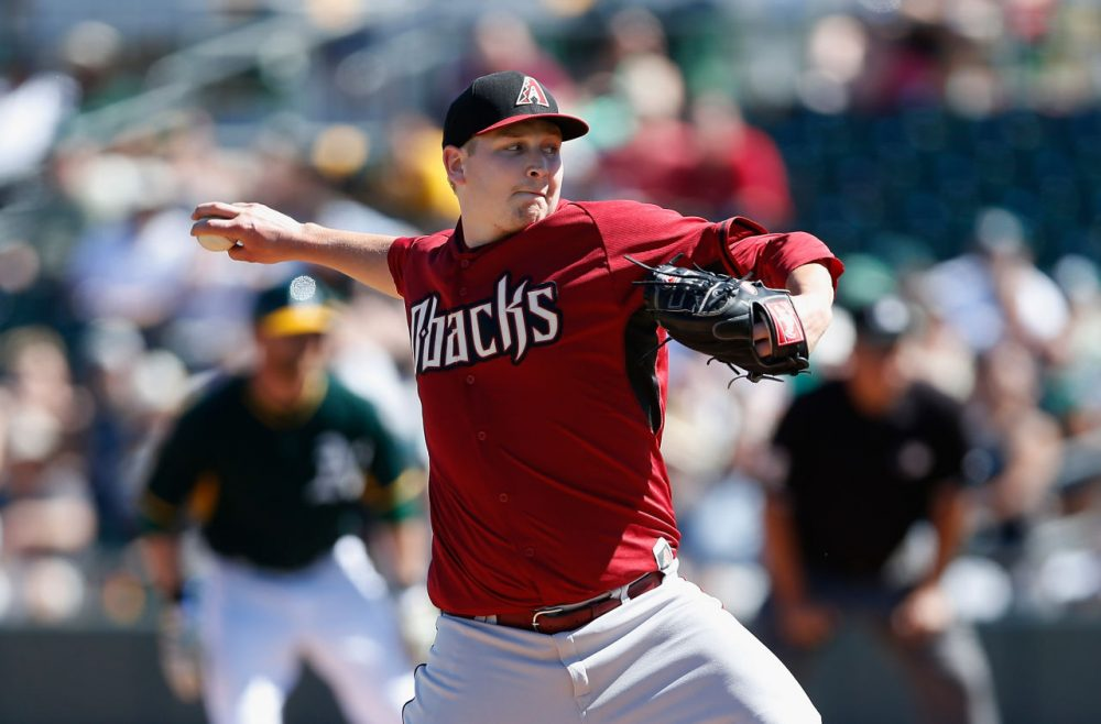 Regional sports broadcasters have become a big source of revenue for local teams. Pictured, the Arizona Diamondbacks play a game against the Oakland Athletics on March 10, 2015 in Mesa, Arizona.  (Christian Petersen/Getty Images)