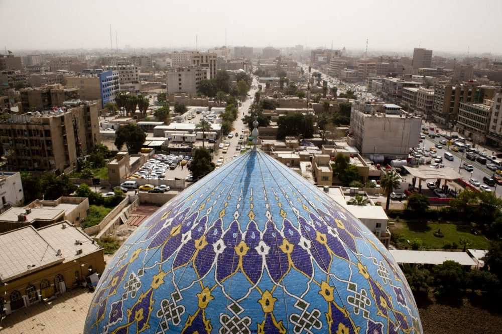 For a number of American basketball players, Baghdad is home. (Getty Images)