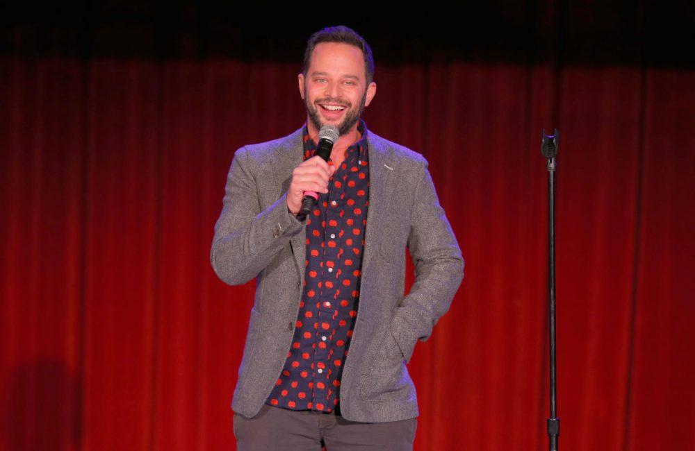 "Comedian Nick Kroll speaks onstage at Variety's 5th annual Power of Comedy on December 11, 2014 in Los Angeles, California. He is the creator of ""The Kroll Show"" which wraps up on Comedy Central after three years. (Joe Scarnici/Getty Images for Variety)"