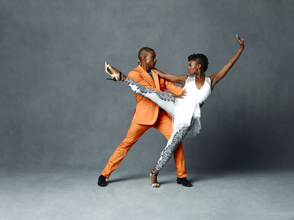 Alvin Ailey American Dance Theater's Rachael McLaren and Kirven Douthit-Boyd. (Courtesy Andrew Eccles)