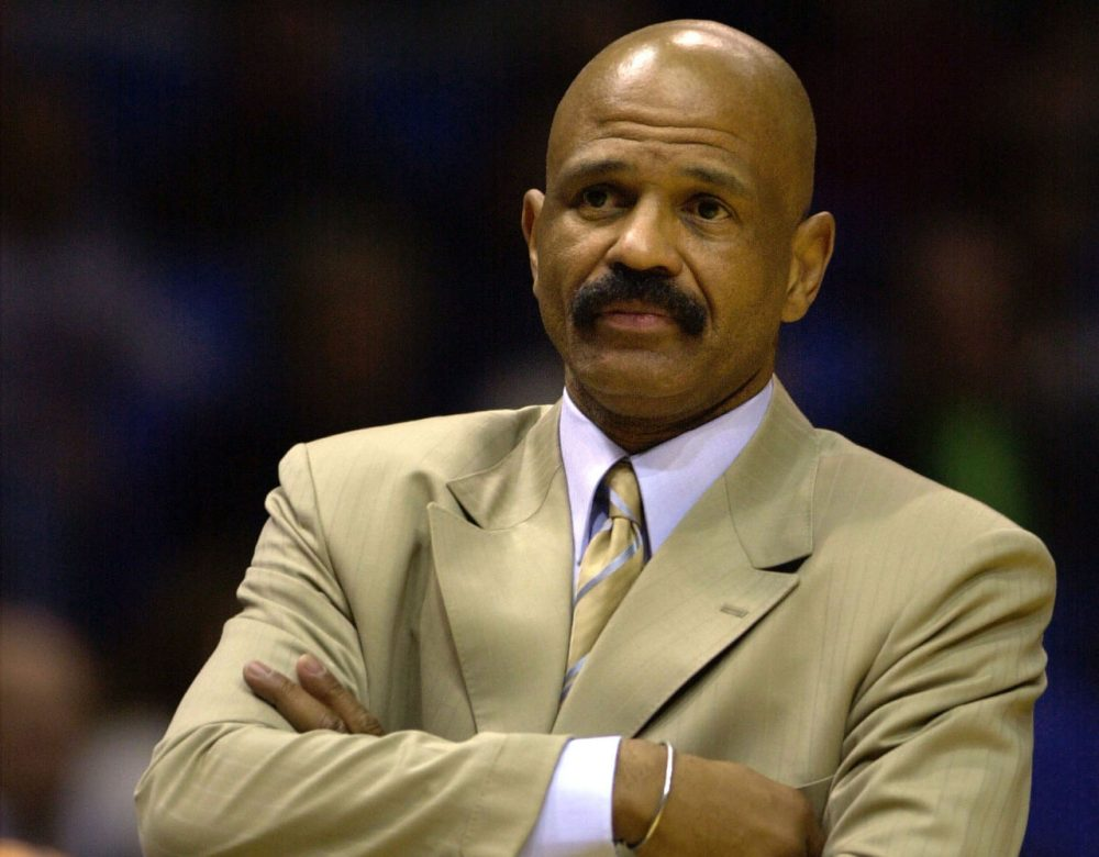 John Lucas has coached the San Antonio Spurs, Cleveland Cavaliers, and Philadelphia 76ers. He made it to the Western Conference Finals while with the Spurs.(David Maxwell/AFP/Getty Images)