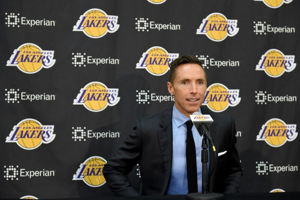 On Tuesday, two-time NBA MVP Steve Nash announced his retirement. (Harry How/Getty Images)