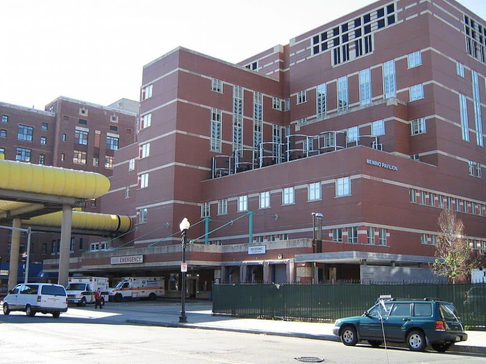 Boston Medical Center. (Gretchen Ertl /AP)