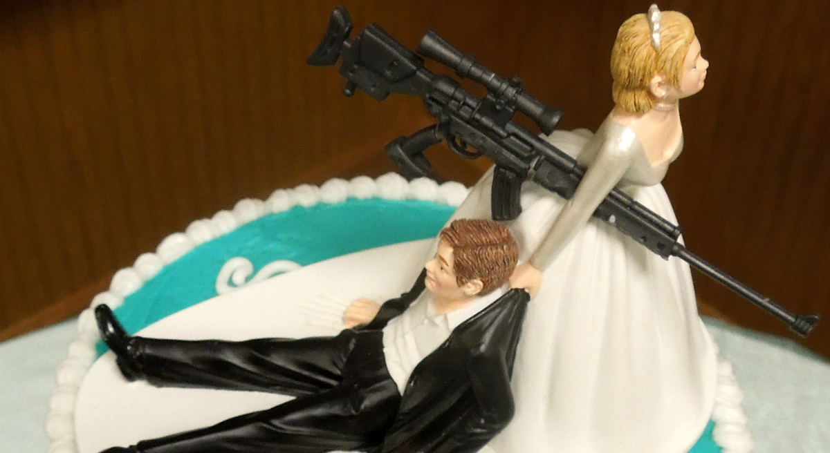A conflicted feminist proposes to her man but still wants a ring.  (Counselman Collection/flickr)