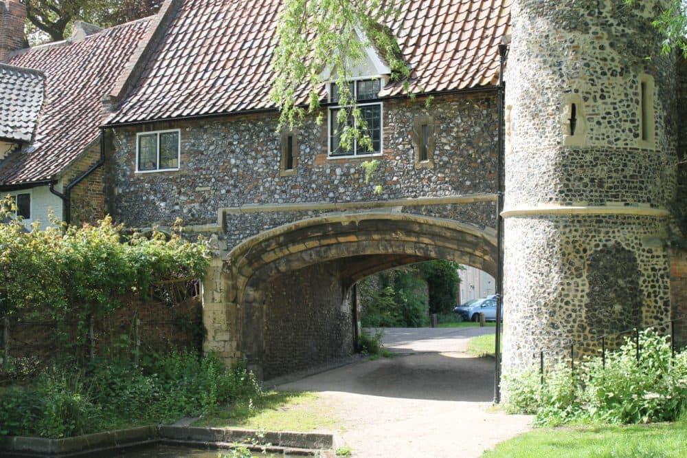 Riverside Walk, in Norwich, United Kingdom.