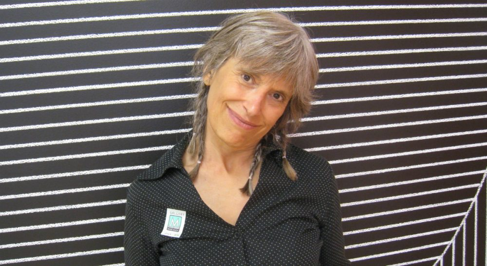 Marcia Deihl, in an undated photo, while on a visit to Mass MOCA. The beloved Cognoscenti contributor was struck and killed while riding her bicycle in Cambridge, Mass., on Wednesday, March 11, 2015.