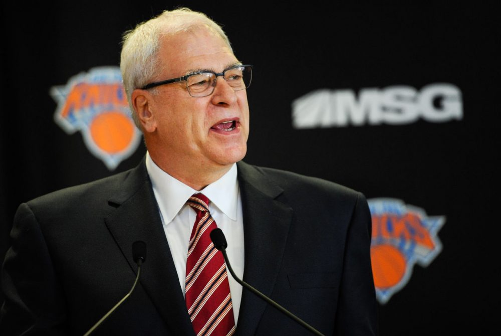 On Monday, Knicks president (Maddie Meyer/Getty Images)