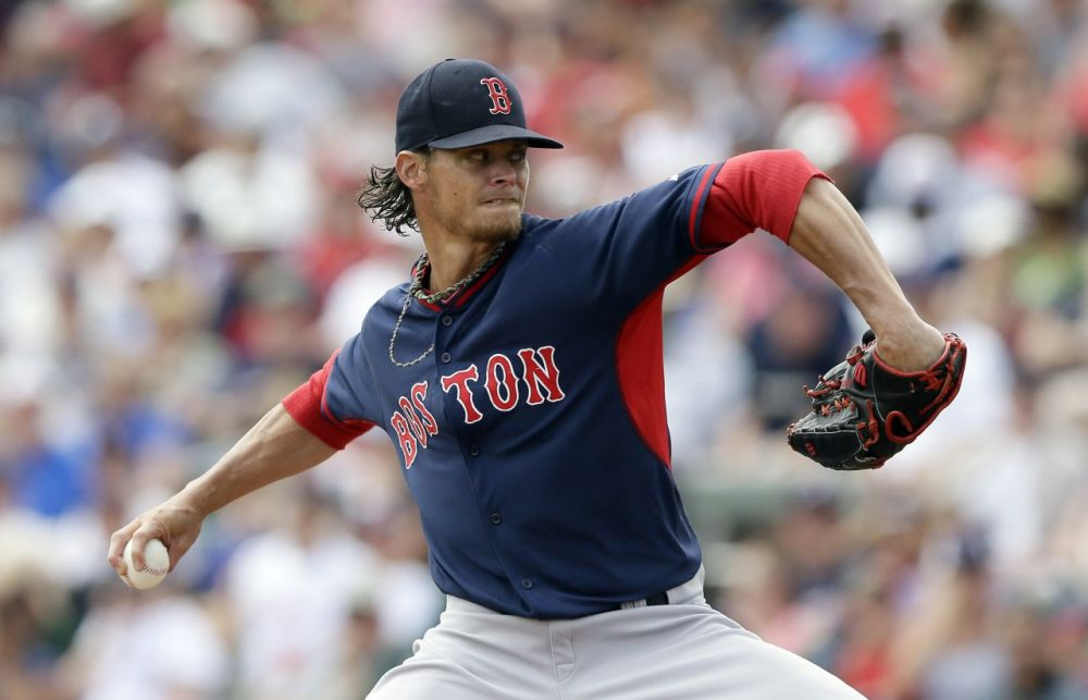Clay Buchholz, who posted an 8-11 record last season, is the Red Sox Opening Day starter. (Carlos Osorio/AP)
