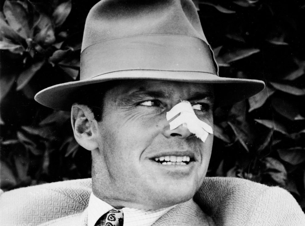 "Jack Nicholson portrays a private investigator in Los Angeles in the 1930's, endangered when a seemingly routine case uncovers the private scandals of the city's leading family, in ""Chinatown."" 1974 photo. (CBS Television Network via AP)"