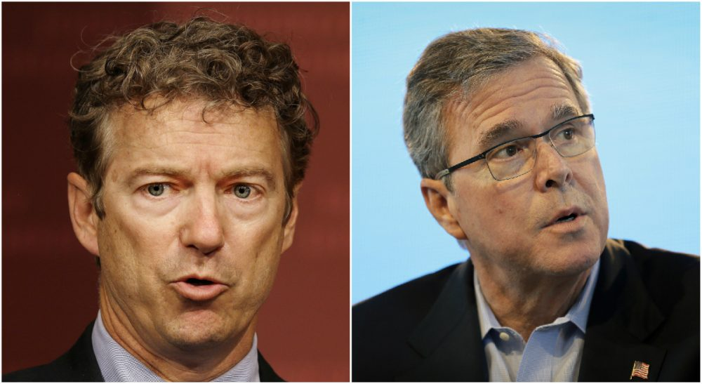 A Republican sea change on foreign policy could be bad news for theGOP's self-anointed outsider, Paul, as well as its consummate insider, Bush. (Both photos AP)