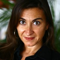 Lynsey Addario in 2009. (Lynsey Addario/Getty Images Reportage)