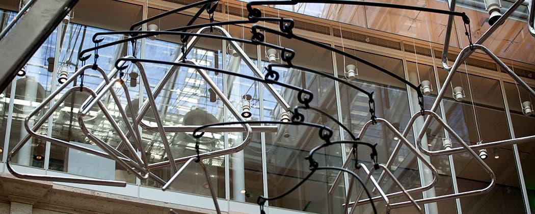 """Triangle Constellation"" by Carlos Amorales."