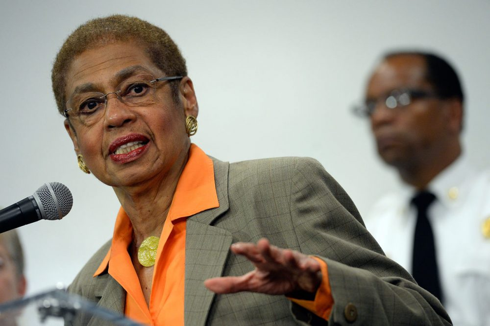 Congresswoman Eleanor Holmes Norton (D-DC) is pictured on September 16, 2013 in Washington, D.C.  (Patrick McDermott/Getty Images)