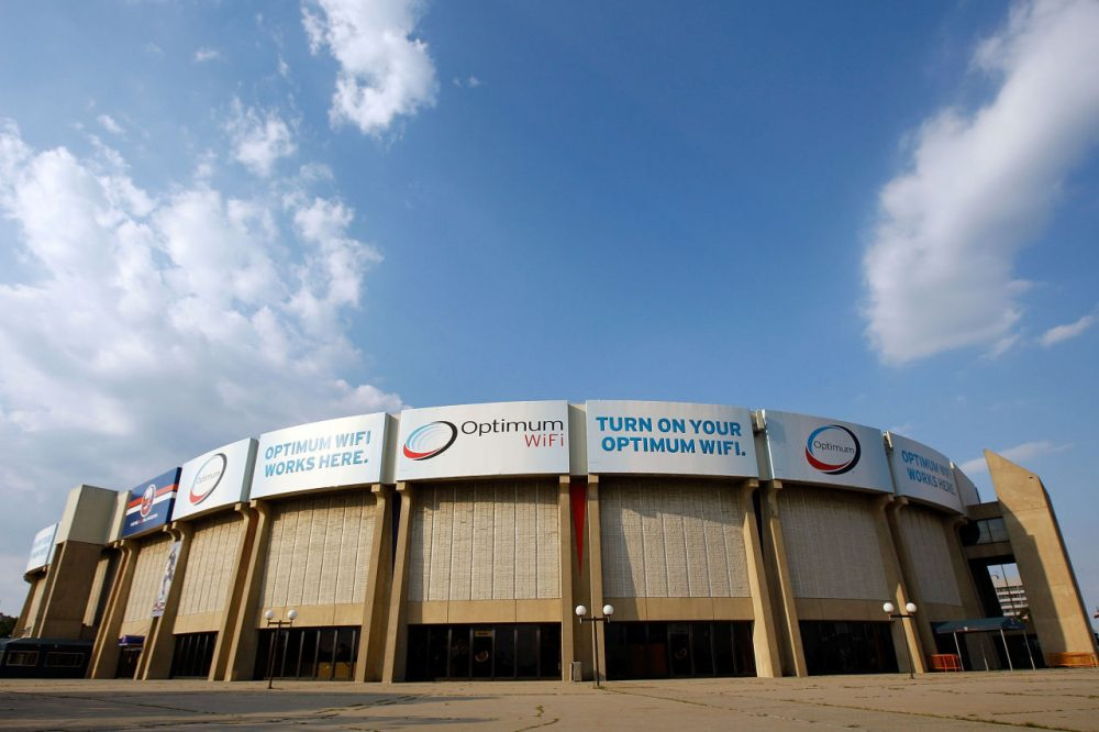 Nassau Coliseum has been the home of the New York Islanders since 1972. (Mike Stobe/Getty Images)