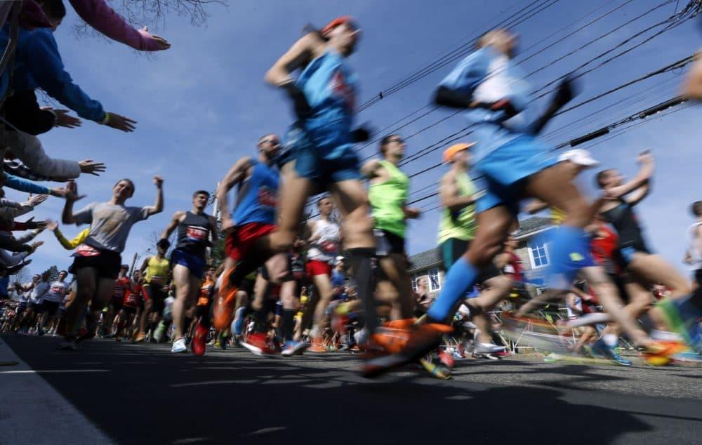 For childhood cancer survivor Matt Tullis, running brings back memories of , (Michael Dwyer/AP)