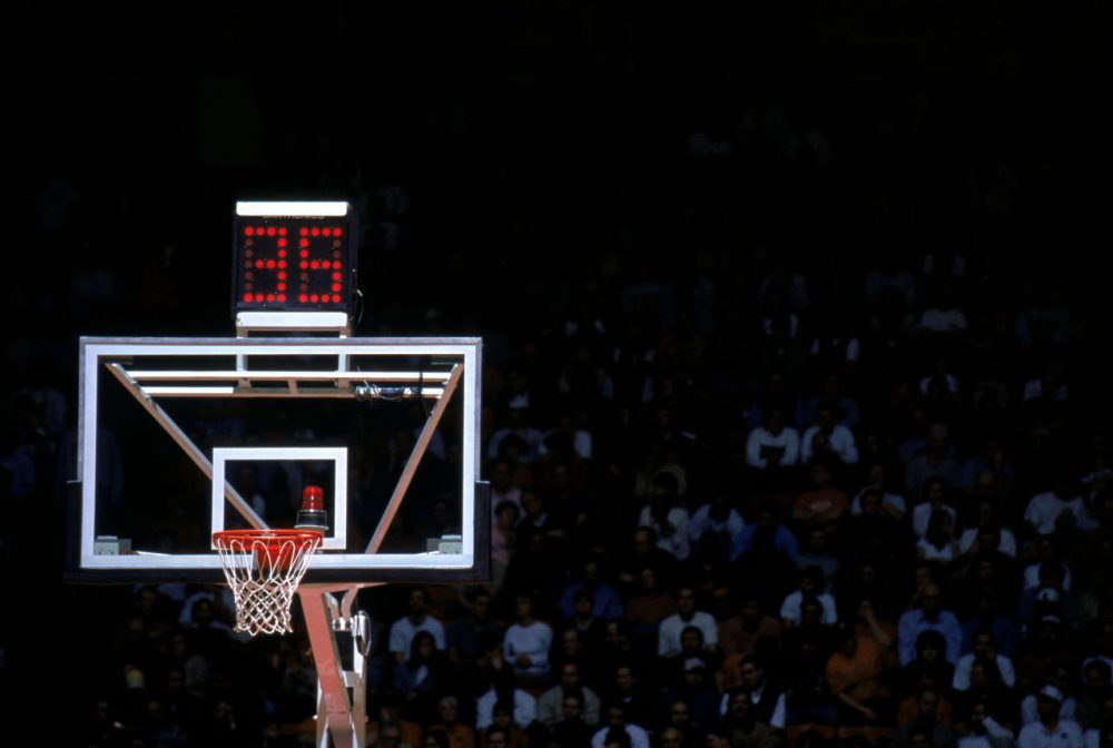 Basketballs Shot Clock A Brief History Only A Game