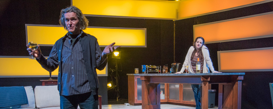 """Ciaran Crawford and Leda Uberbacher in """"Scenes from an Adultery."""" (Andrew Brilliant/Brilliant Pictures)"""